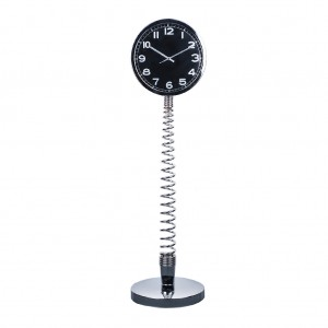 Modern Metal Spring Table & Floor Clock XXXL Size