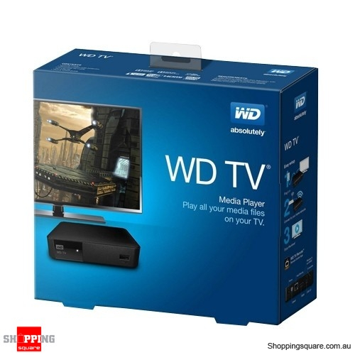 Western Digital WD TV Live Streaming Media Player Full HD