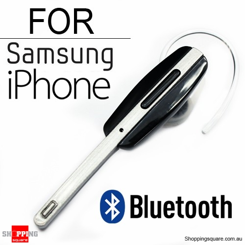 Wireless Bluetooth Handsfree with Mic for iPhone Samsung Android
