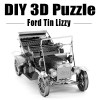 DIY 3D Metal Laser Cut Puzzle - Ford Tin Lizzy
