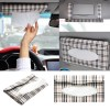 Car sun visor Tissue box holder Paper napkin clip