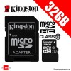 Kingston 32GB microSDHC microSDXC Class 10 UHS-I Card with Adapter (SDC10G2)
