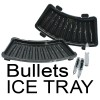 AK 47 Bullets ICE Tray Cubes Black Colour