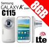 Samsung Galaxy K Zoom C115 LTE 8GB Mobile Camera White