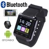 New Bluetooth Wireless Smart Wrist Watch for Android Samsung Sony LG HTC Black Colour