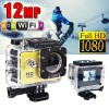 GoAction SJ4000 WiFi Full HD 1080P 12MP Waterproof Sports Action Camera Pro DV Yellow Colour