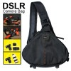 DSLR Camera Shoulder Carry Case Bag For Canon EOS Nikon Sony Black Colour
