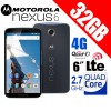 Motorola Nexus 6 XT1100 4G LTE 32G Smart Phone Blue