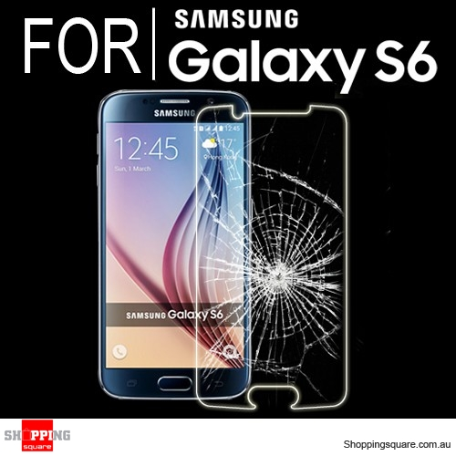 For Samsung Galaxy S6 Premium Real Tempered Glass Film Screen Protector