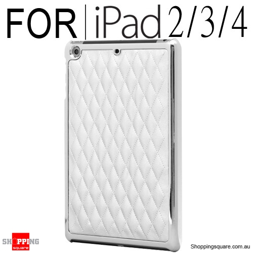 Zest Flair Cover iPad 2/3/4 Gen Silver