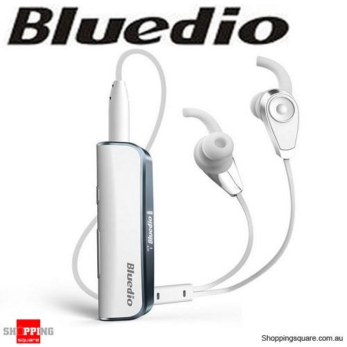 953ea806c02 New Bluedio i6 Bluetooth V4.1 Wireless Stereo Headphones for Car AUX  Speaker White Colour - Online Shopping   Shopping Square.COM.