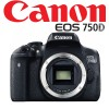 Canon EOS 750D Digital Camera Bla...