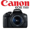 Canon EOS Kit 750D EF-S 18-55mm IS STM Digital Camera Black