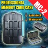 for 4 x CF / 8 x SD Professional Anti-shock Waterproof DC Memory Card Case Holder