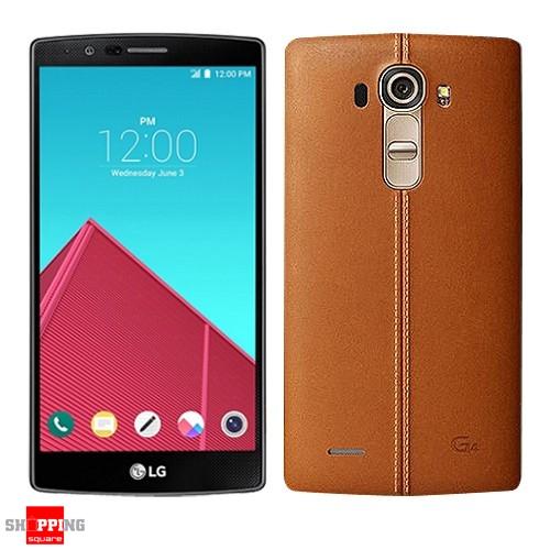 lg g4 h815 4g 32gb leather brown smart phone au warranty. Black Bedroom Furniture Sets. Home Design Ideas