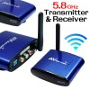 5.8GHz Wireless AV 3 RCA Audio video Sender Transmitter Receiver