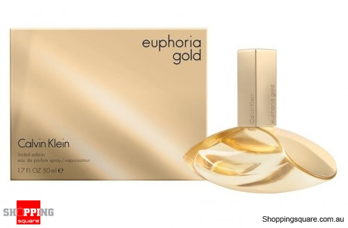 CK Euphoria Gold 50ml EDP by Calvin Klein For Women Perfume