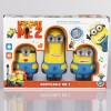 3pcs Despicable Me 2 Minions Doll Set with Sound & Light