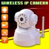 Wireless IP Network Security Camera WHITE For Monitoring - iPhone and Android compatible
