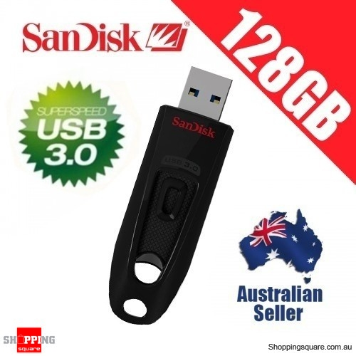 Sandisk Ultra 128gb Usb 3 0 Flash Drive Memory Stick Up To 100mb S