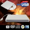 USB External Portable CD and DVD RW ROM Drive Writer Burner For Macbook Windows Laptop