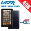 LASER EB850 Multimedia eBook Reader 7inch