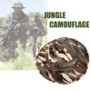 Men's Army Bucket Hat for Hunting/Fishing/Camping with Strings Jungle Camouflage