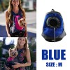 Pet Dog Holder Carrier Backpack Bag for Traveling/Camping Size M Blue Colour