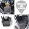 Car Back Seat Cover Pet Hammock Protector Mat Rear Cradle Blanket Travel Black Colour