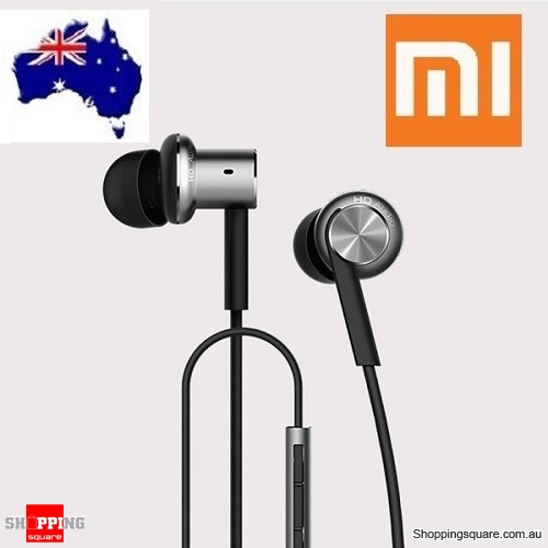 New Xiaomi 4th Generation Piston Hybrid Dual-Driver Earphone with Mic  - Refurbished