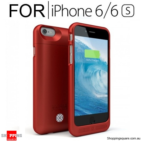 competitive price ccb4c 536fd LENMAR UNDEAD POWER 3000MAH IPHONE 6/6S POWER CASE RED - Shoppingsquare  Australia