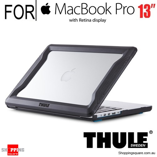 Thule Vectros Protective Bumper Case Black Colour for Macbook Pro 13 Inch with Retina Display