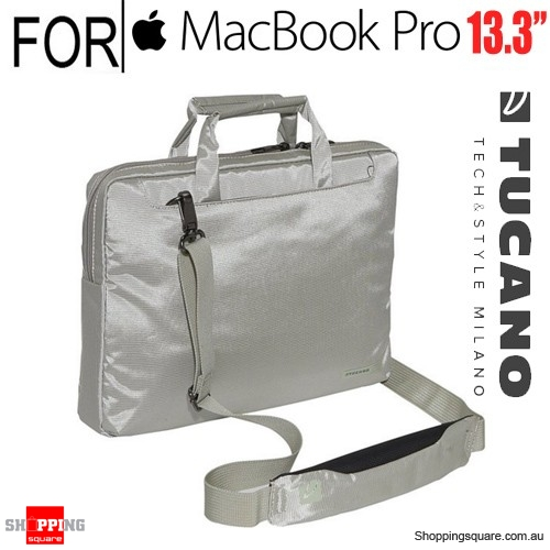 Tucano Work Out Slim Case White Colour for 13.3-inch Macbook/Macbook Pro