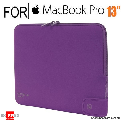 Tucano Second skin Charge Up Purple for Macbook Pro 13 Inch & Macbook Air 13 Inch
