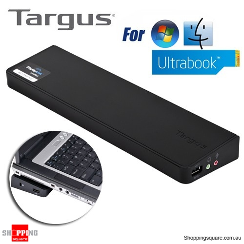 Targus Usb 3 Superspeed (TM) Dual Video Docking Station Compatible with  Ultrabook/Laptop/Pc - Shoppingsquare Australia
