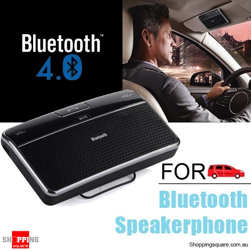 Wireless Bluetooth 4.0 Hands free Speakerphone / Receiver Car Kit