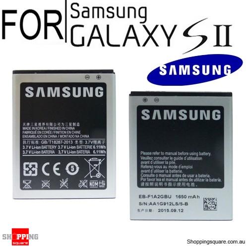 Genuine Samsung Battery For Samsung Galaxy S2 II - Online Shopping @ Shopping Square.COM.AU ...