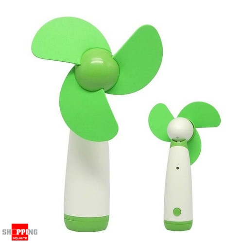 Portable Handheld Low Noise Soft Blades Mini Fan For