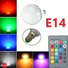LED Light Colour Changing Bulb E14 RGB Remote Controlled