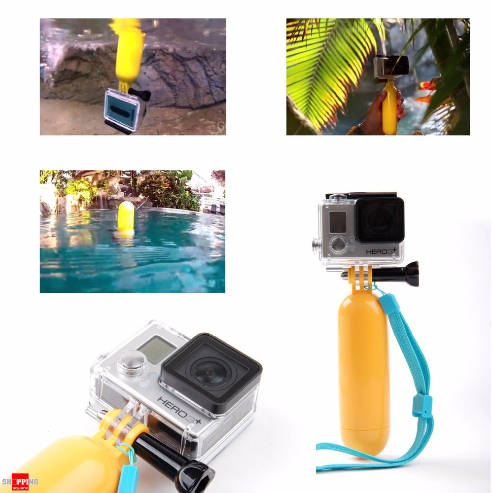 Floating Bobber Floaty Grip Stabilizer Hand Monopod For Gopro Xiaomi Yi And Hero 2 3 5 4 Code P62696