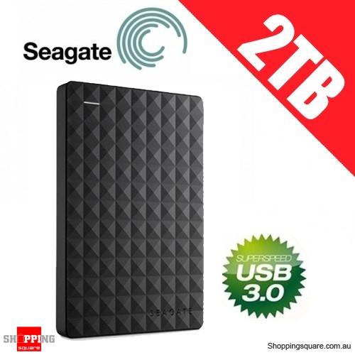 Seagate Expansion 2TB Portable Hard Drive USB 3.0 STEA2000400