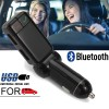 Bluetooth Handsfree Car Charger for MP3 FM SD with Dual USB slot for iPhone Android