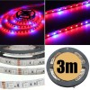 3M 5:1 Red/Blue 5050 SMD LED Light Glow Strip 12V for Hydroponic Plant & Ecological Life Support
