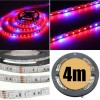 4M 5:1 Red/Blue 5050 SMD LED Light Glow Strip 12V for Hydroponic Plant & Ecological Life Support