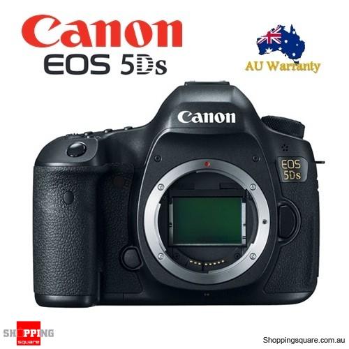 Canon EOS 5DS Digital SLR Camera Body Full Frame 50.6 MP Black