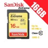 SanDisk Extreme 16GB SDHC SDXC UHS-I U3 4K Ultra HD Memory Card 90MB/s