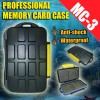 MC-3 Type Professional Anti-shock Waterproof DC Memory Card Case Holder for CF Micro SD
