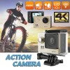 Ultra 4K HD1080P Waterproof Sport Action Camera Supports WiFi Helmet Mounting Gold Colour