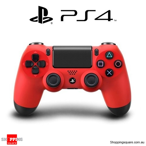 SONY Genuine Playstation 4 DualShock 4 Controller (PS4) - Red - Used