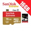 SanDisk Extreme 16GB MicroSD SDSQXNE TF Memory Card up to 90MB/s